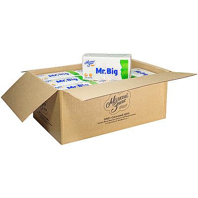 Купить салфетка бумажная белая 24х24 см 1-сл 250 шт/уп*18 сцбк 1/1 в Москве