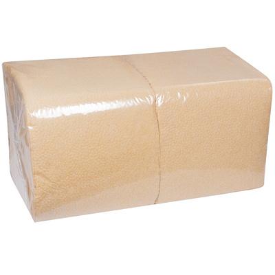 Купить салфетка бумажная крафт 33х33 см 1-сл 300 шт/уп крафт