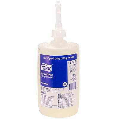 Купить мыло жидкое 1л прозрачное tork s11 universal картридж для диспенсера sca 1/6 (арт. 620701) в Москве