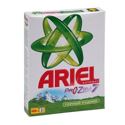 Купить порошок стиральный 450г ariel automat p&g 1/20 в Москве