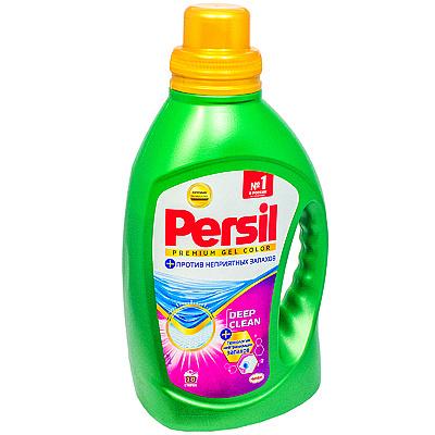 Купить средство для стирки жидкое 1.17л для цветных тканей persil premium color henkel 1/8 в Москве