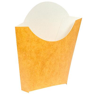 Купить упаковка для картофеля фри дхшхв 90х34х125 мм крафт pps 1/500 в Москве