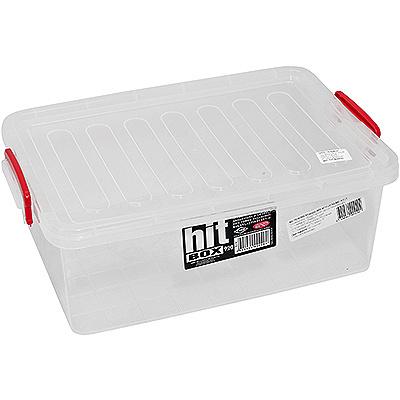 Купить контейнер прямоугольный 6.1л дхшхв 225х343х125 мм с крышкой на зажимах пластик bora 1/40 (арт. 920) в Москве