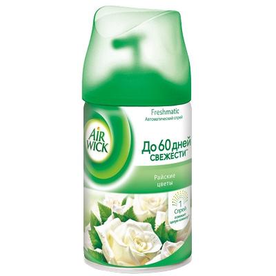 Купить освежитель автоматический 250мл air wick сменный баллон райские цветы benckiser 1/6 в Москве