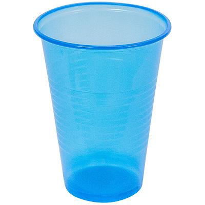 Купить стакан пластиковый 200мл d70 мм pp синий ипк 1/100/3000 в Москве