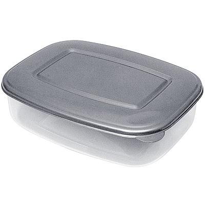Купить контейнер прямоугольный 0.7л дхшхв 170х130х50 мм крышка темно-серая пластик bora 1/72 (арт. 477) в Москве