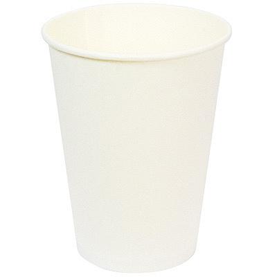 Купить стакан бумажный 300мл d90 мм 1-сл для холодных напитков белый v 1/50/800 в Москве