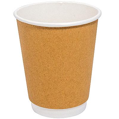 Купить стакан бумажный 350мл d90 мм 2-сл для горячих напитков крафт fc 1/30/600 в Москве