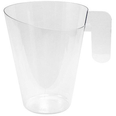 Купить форма фуршетная 150мл h85xd68 мм чаша капуччино ps прозрачная
