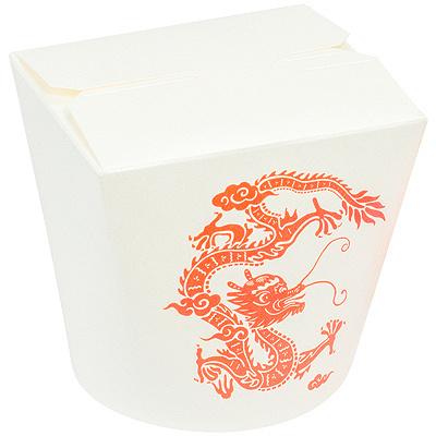 Купить контейнер бумажный china pack 700мл н98хd138 мм с декором дракон pps 1/50/450 в Москве