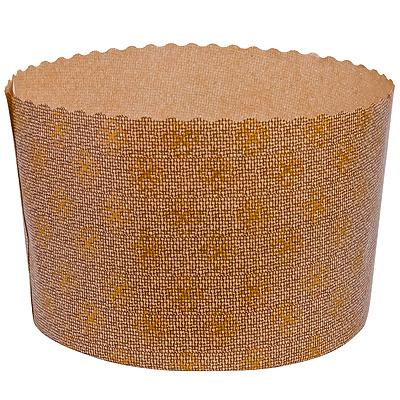 Купить форма бумажная кулич 200г н90хd90 мм круглая бумажная коричневая 1/2400 в Москве