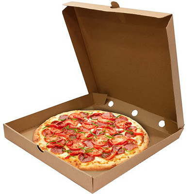 Купить коробка для пиццы дхшхв 250х250х40 мм квадратная картон крафт 1/50 в Москве