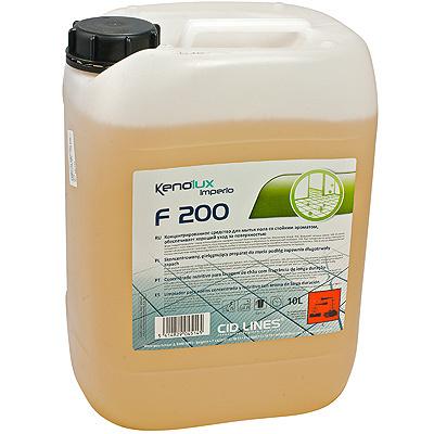 Купить средство для поломоечных машин 10л для придания блеска и запаха концентрат kenolux f200 канистра cid lines 1/1 в Москве