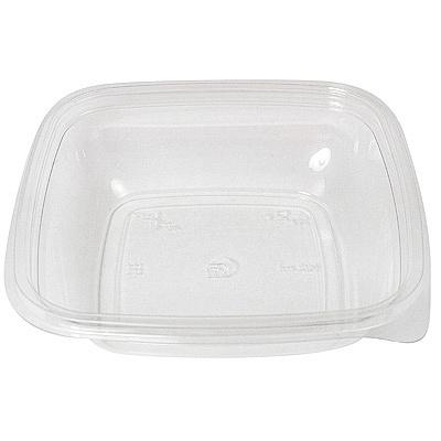 Купить контейнер 500мл дхшхв 160х160х45 мм без крышки квадратный pet прозрачный сп 1/75/450 в Москве